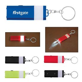 Promotional Flat 4 LED Lantern Key Chain