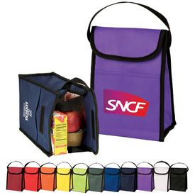 Promotional Nonwoven Lunch Bag With Pocket