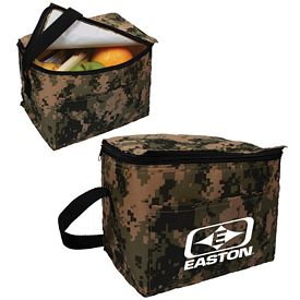 Customized Digital Camo 6 Pack Cooler