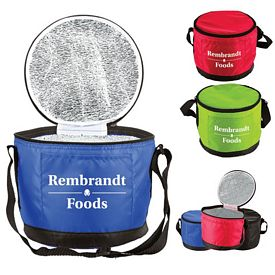 Promotional Polyester Round Lunch Cooler