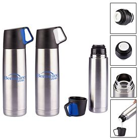 Custom 165 Oz Stainless Steel Vacuum Bottle