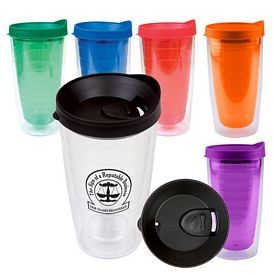 Promotional 16 Oz Double Wall Saturn Tumbler