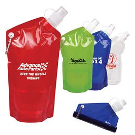 Customized Hydropouch 20 Oz Collapsible Water Bottle