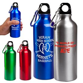 Customized 17 Oz Aluminum Petite Bottle