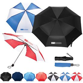 Promotional 42 Budget Folding Umbrella