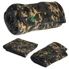 Customized Digital Camo Fleece Blanket