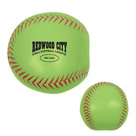 Customized Softball Pillow Ball