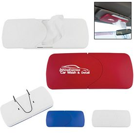 Promotional Refillable Visor Tissue Holder