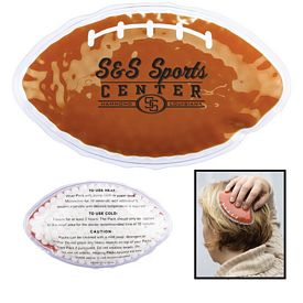 Promotional Football Hot-Cold Gel Pack
