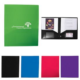 Customized 2 Pocket Presentation Folder