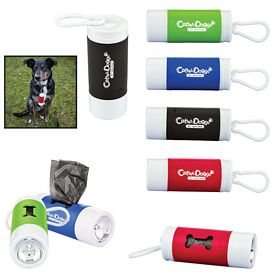 Customized Pet Waste Disposal Bag Dispenser With Flashlight