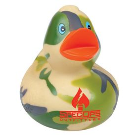 Customized Camouflage Rubber Duck