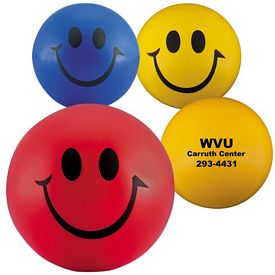 Promotional Smiley Face Stress Ball Stress Reliever