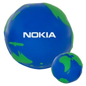 Promotional Globe World Stress Ball