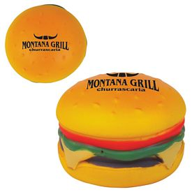 Promotional Hamburger Advertising Stress Reliever