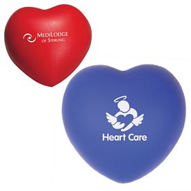 Promotional Heart Advertising Stress Reliever