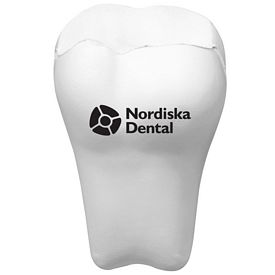 Promotional Tooth Advertising Stress Reliever