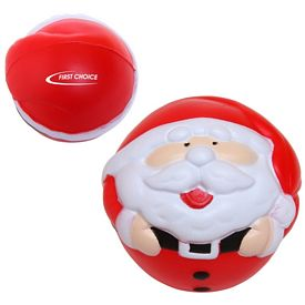 Customized Santa Advertising Stress Reliever