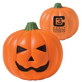 Promotional Pumpkin Advertising Stress Reliever