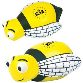 Promotional Bumble Bee Advertising Stress Reliever