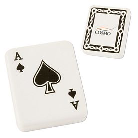 Promotional Ace of Spades Advertising Stress Reliever