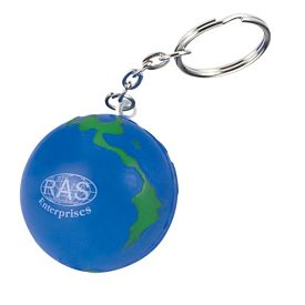 Customized Globe Key Chain