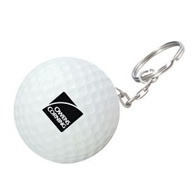 Promotional Golf Ball Key Chain
