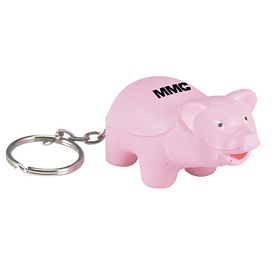 Customized Pig Key Chain