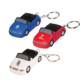 Promotional Sports Car Key Chain
