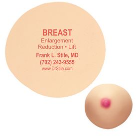 Promotional Breast or Boob Stress Ball