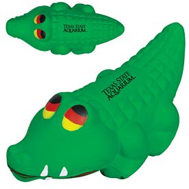 Promotional Alligator Advertising Stress Reliever