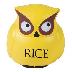 Customized Owl Promo Stress Ball