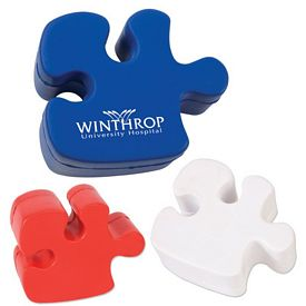 Promotional Puzzle Piece Advertising Stress Reliever