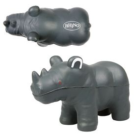 Customized Rhino Advertising Stress Reliever