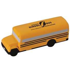 Promotional School Bus Advertising Stress Reliever