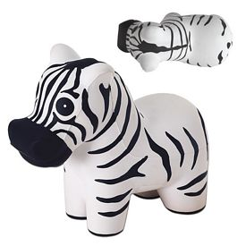 Custom Zebra Advertising Stress Reliever