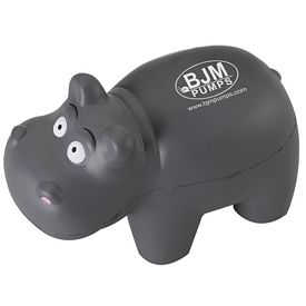 Promotional Hippo Advertising Stress Reliever