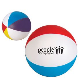 Promotional Beachball Advertising Stress Reliever