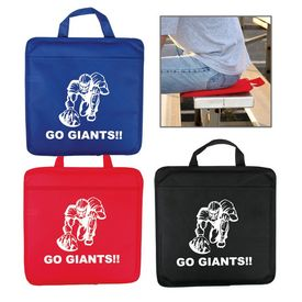 Customized Team Color Nonwoven Stadium Cushion