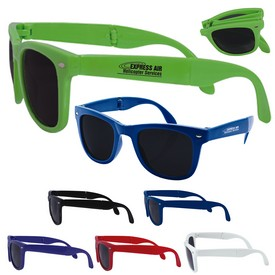 Custom Folding Adult Sunglasses