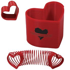 Promotional Heart Spring Thing Slinky