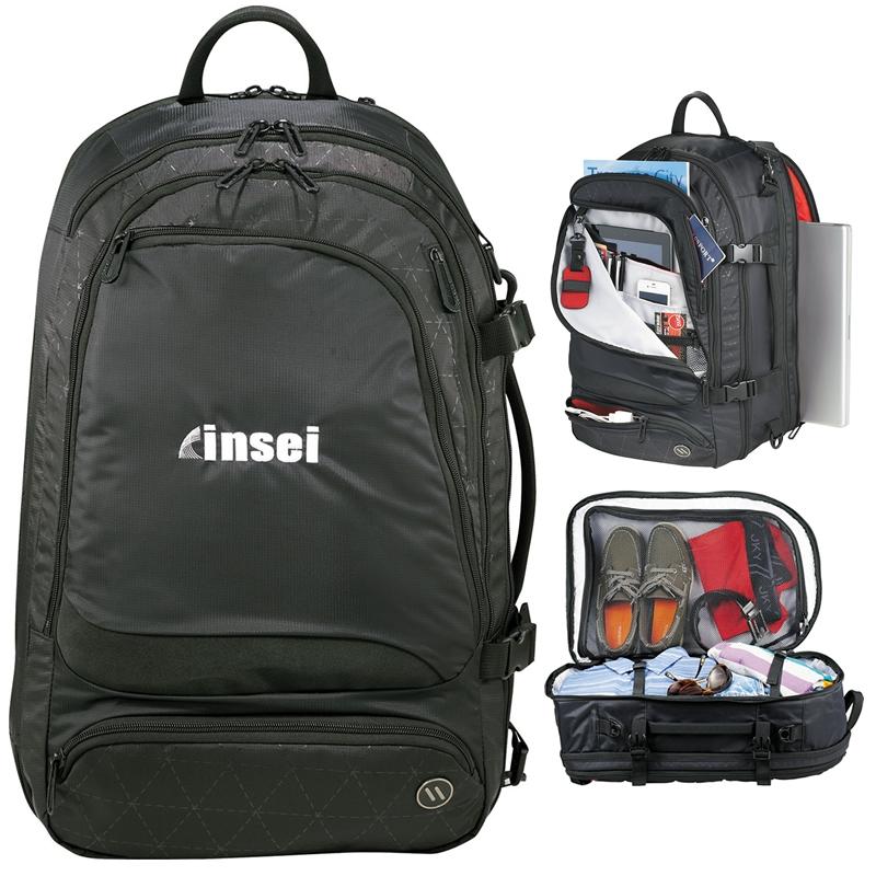 1c16650b5d8 Promotional elleven Traverse Convertible Travel Backpack ...