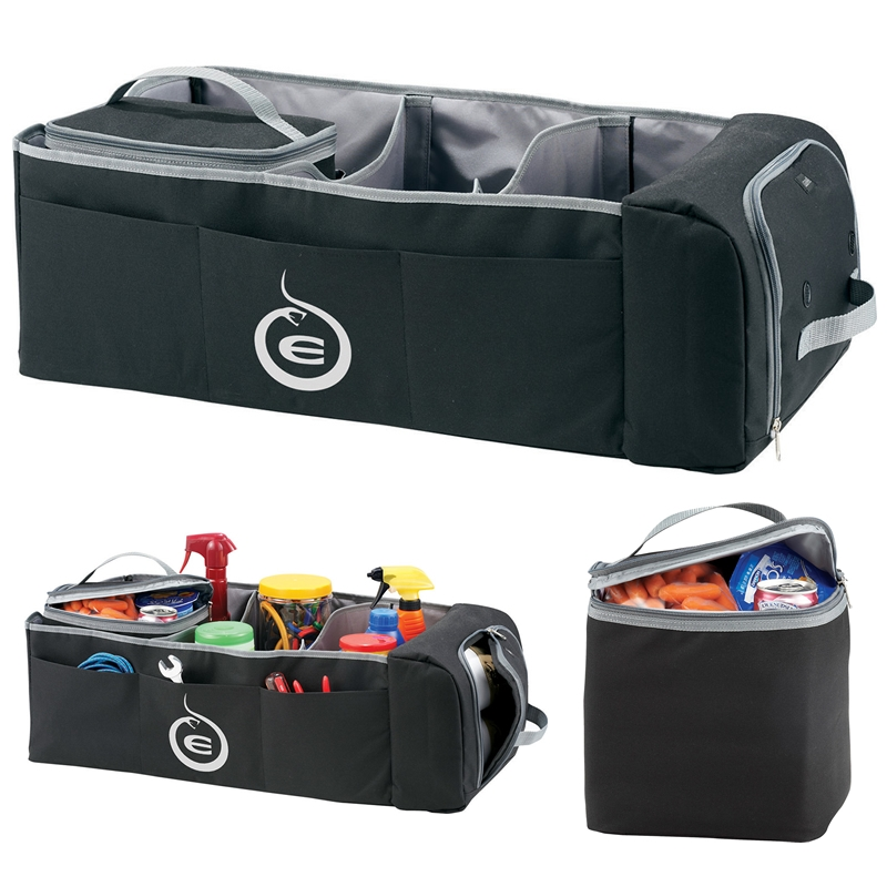Customized neet cooler bag trunk organizer promotional for Mercedes benz car trunk organizer