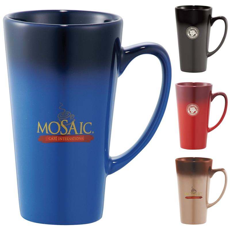 promotional 14 oz cafe tall latte ceramic mug customized 14 oz