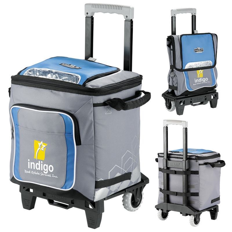 Promotioinal Arctic Zone Icecold 50 Can Rolling Cooler Bag