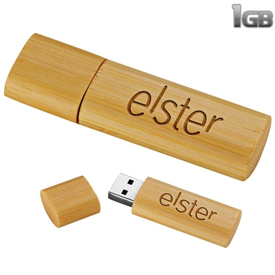 Promotional Bamboo Usb Flash Drive 1Gb
