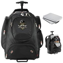 Customized Elleven Wheeled Security-Friendly Compu-Backpack