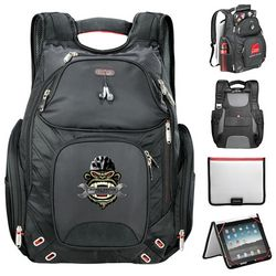 Promotional Elleven Amped Checkpoint-Friendly Compu-Backpack