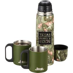 Customized Hunt Valley 18 Oz Camouflage Insulated Bottle Set