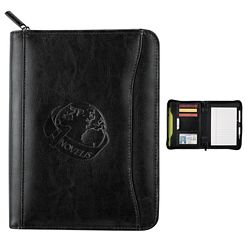 Customized Renaissance Jr Zippered Padfolio
